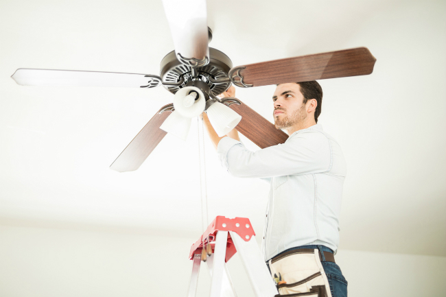 What to Expect from the Ceiling Fan Installation Process