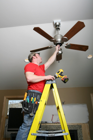 Ceiling fans are a great comfort for any room in the house